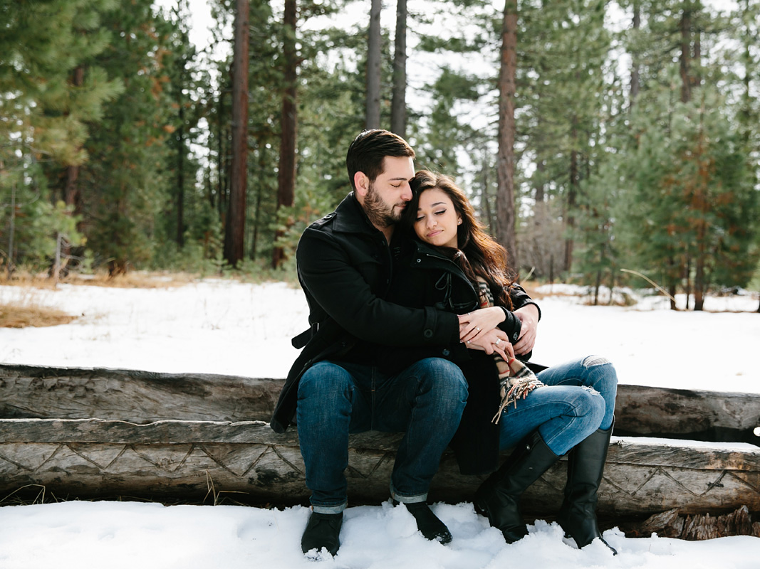 Courtney Aaron south lake Tahoe engagement 8