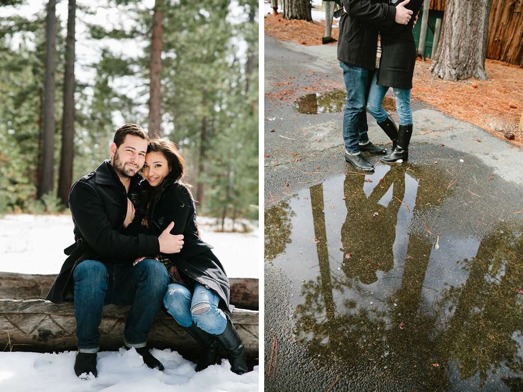 Courtney Aaron south lake Tahoe engagement 9