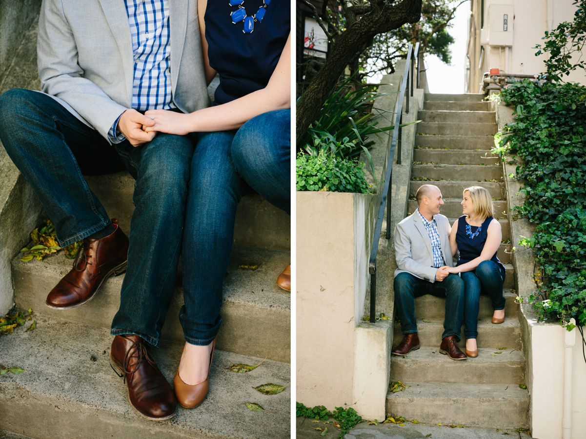 San Francisco Russian Hill Engagement - Courtney Aaron11
