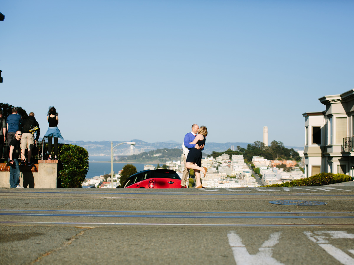 San Francisco Russian Hill Engagement - Courtney Aaron22
