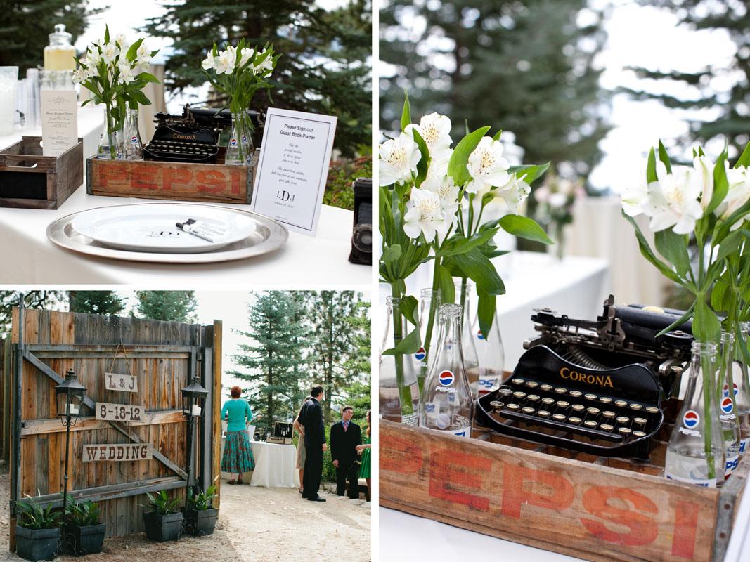 Tunnel Creek Lodge Wedding Lake Tahoe Private residence033