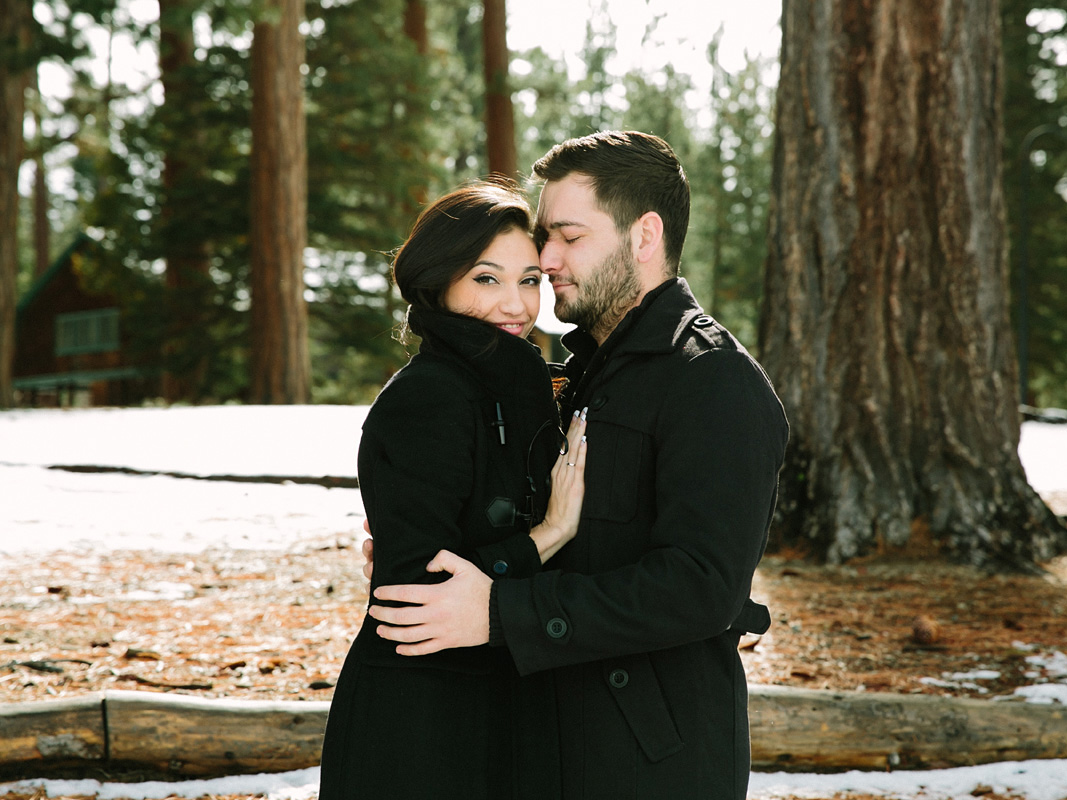 Courtney Aaron south lake Tahoe engagement 3