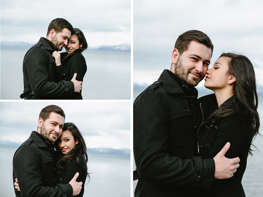 Courtney Aaron south lake Tahoe engagement 6