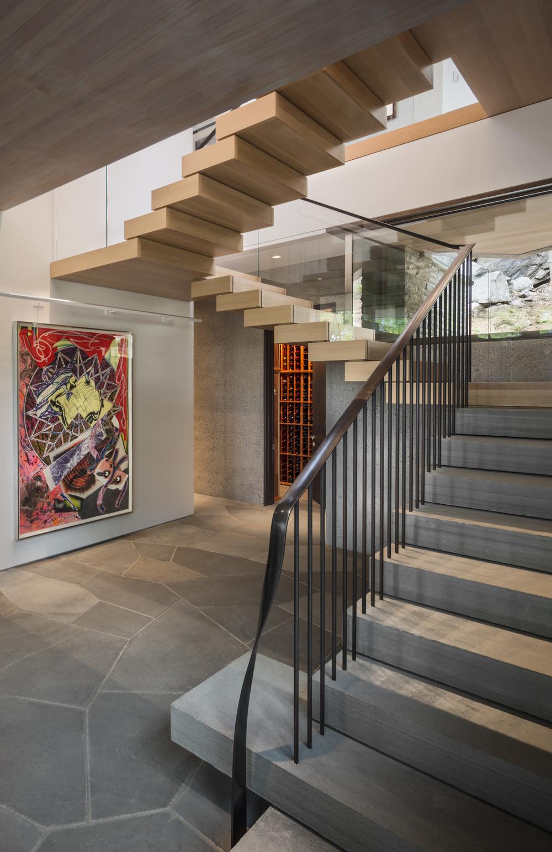 Gorgeous stone staircase