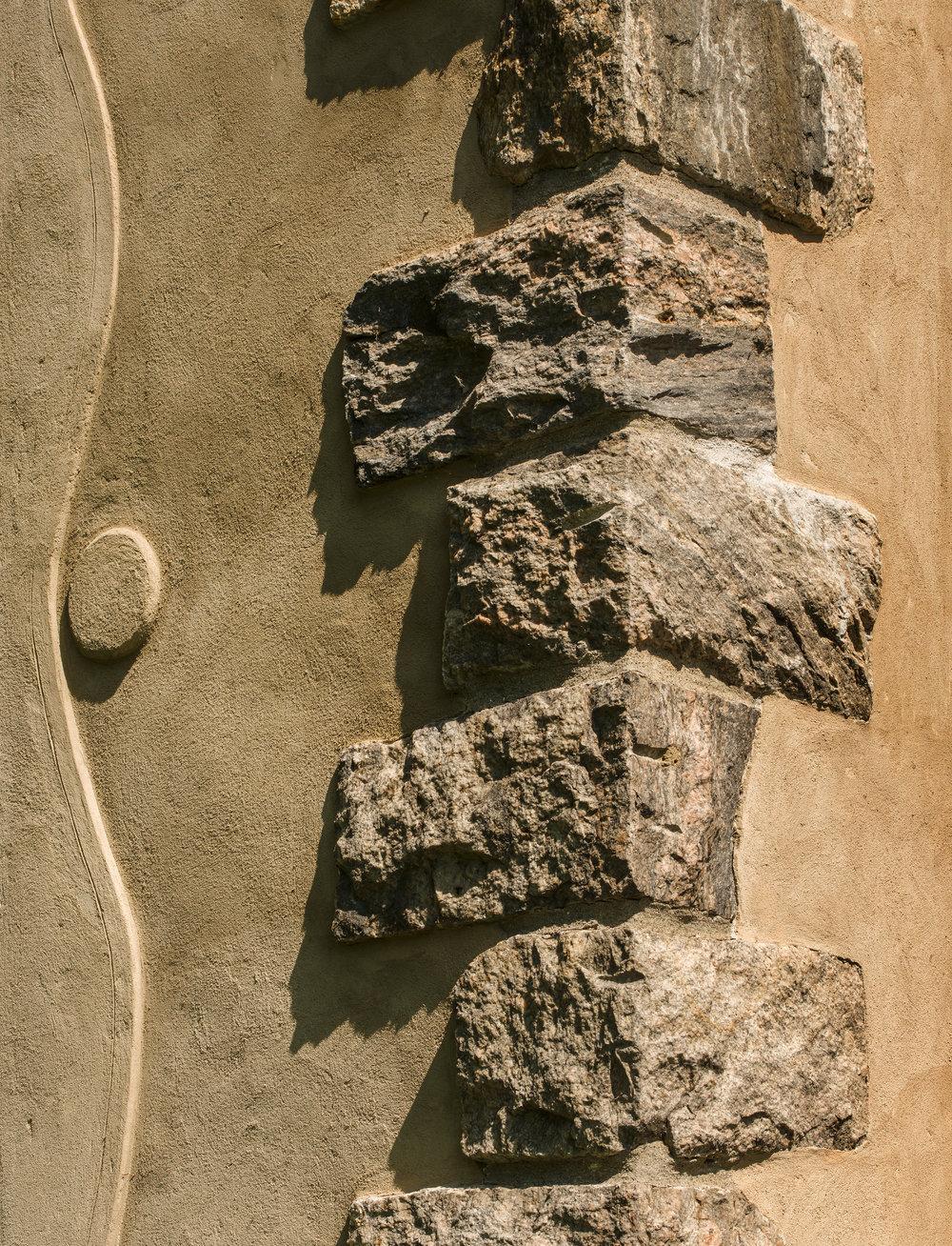 stonework restoration detail