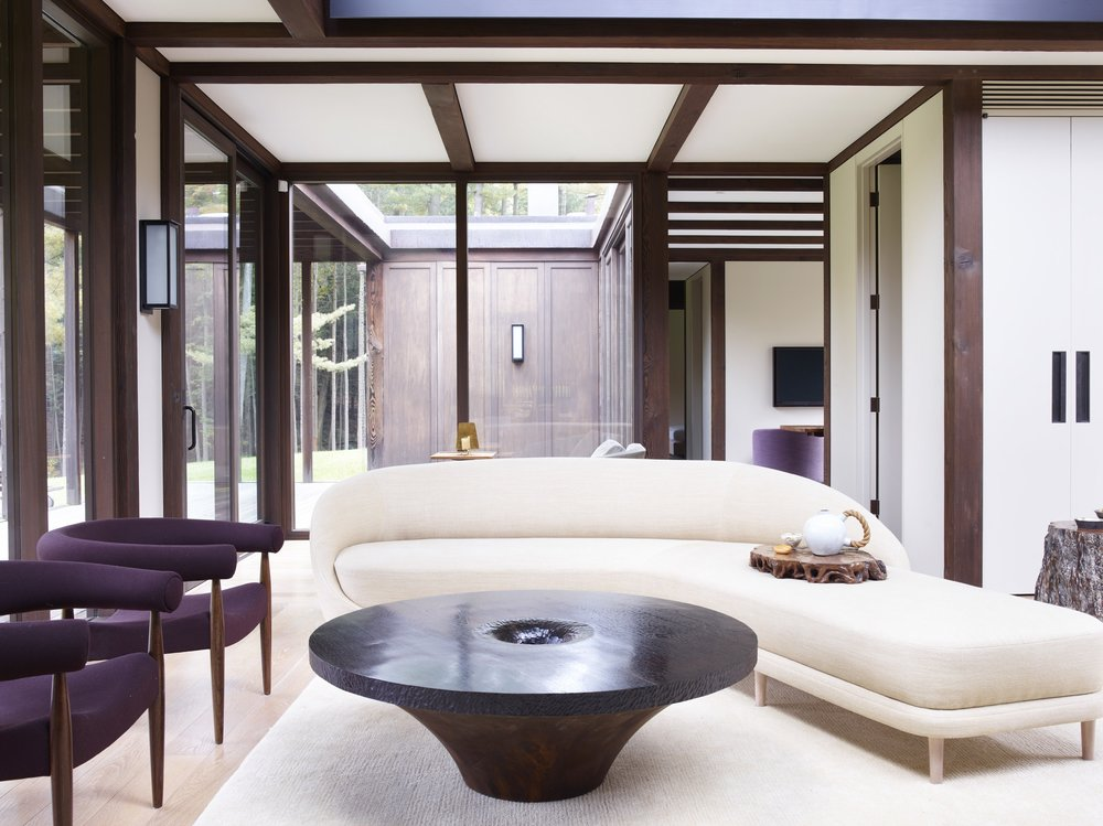 2017 Interior Design Magazine Best of the Year Award, Country House - Project:Modern TeahouseArchitect: Tsao & McKown
