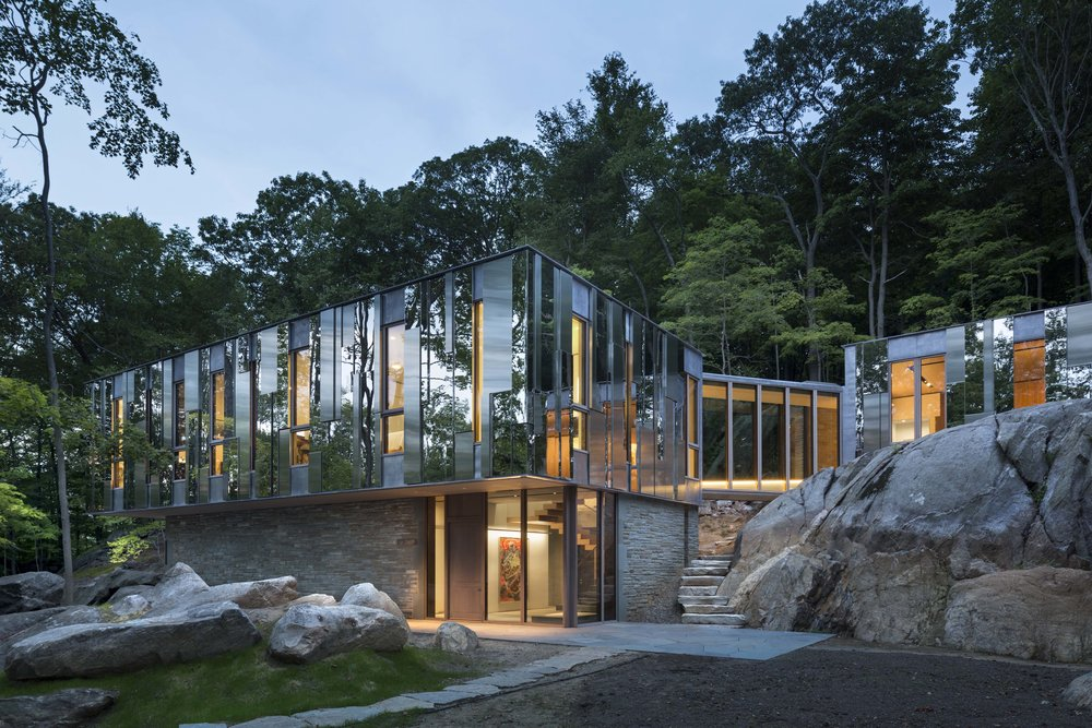 2017 Builder's Choice & Custom Home Design Award, Project of the Year2017 Moffly Media A-List Award, Best Modern Architecture2016 AIA NY Design Award, Large Residential - Project:Pound Ridge HouseArchitect: Kieran Timberlake