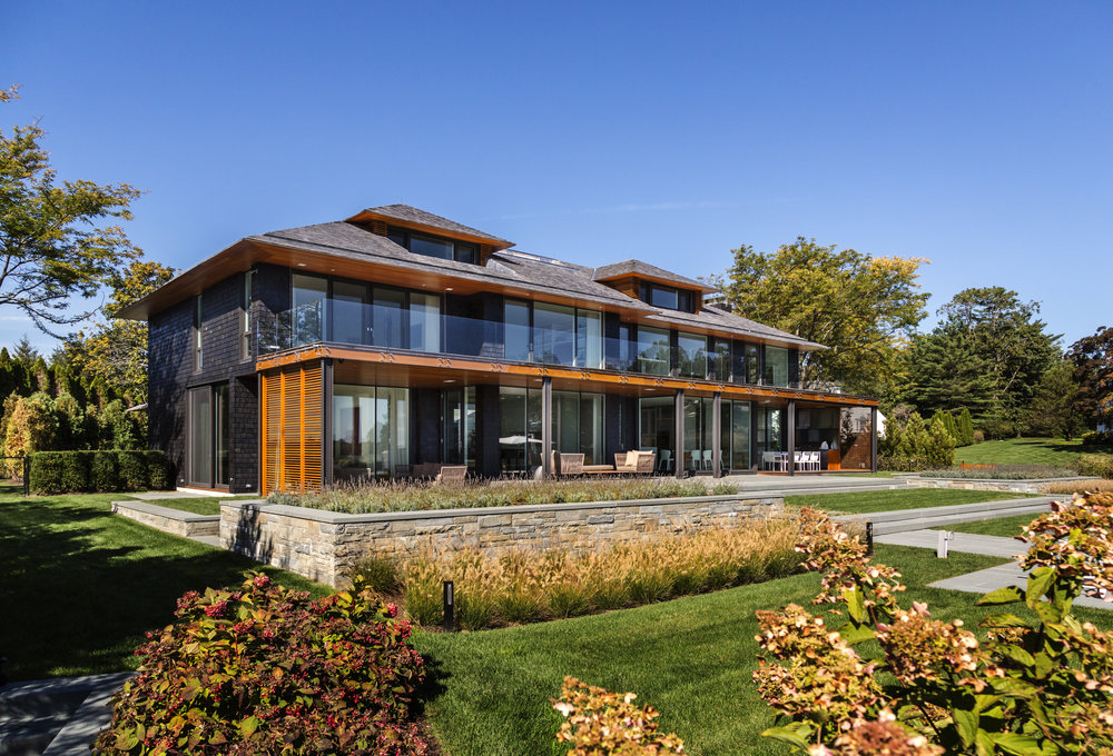 Greenwich Waterfront - 2014 CT Cottages & Gardens Innovation in Design Award, Builder Recognition; ArchitectureArchitect: Joeb Moore + Partners