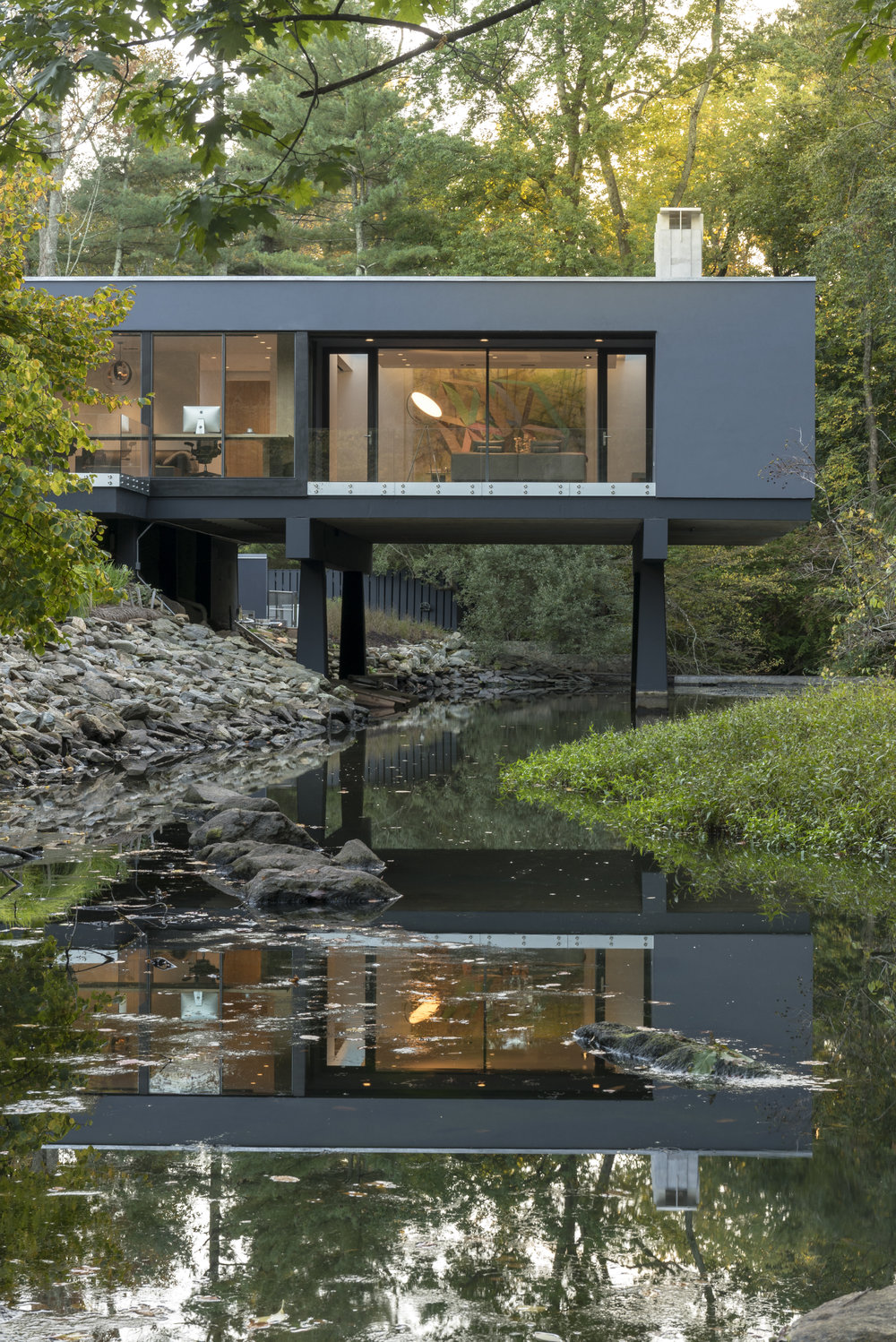 Beautiful Cantilever Modern House