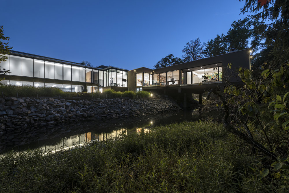 Modern Residential Architecture Connecticut Forest House