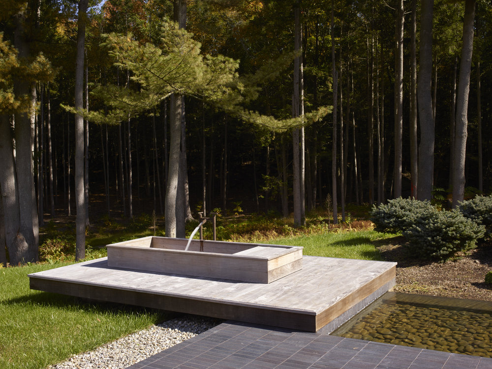 relaxing connecticut modern home japanese gardens