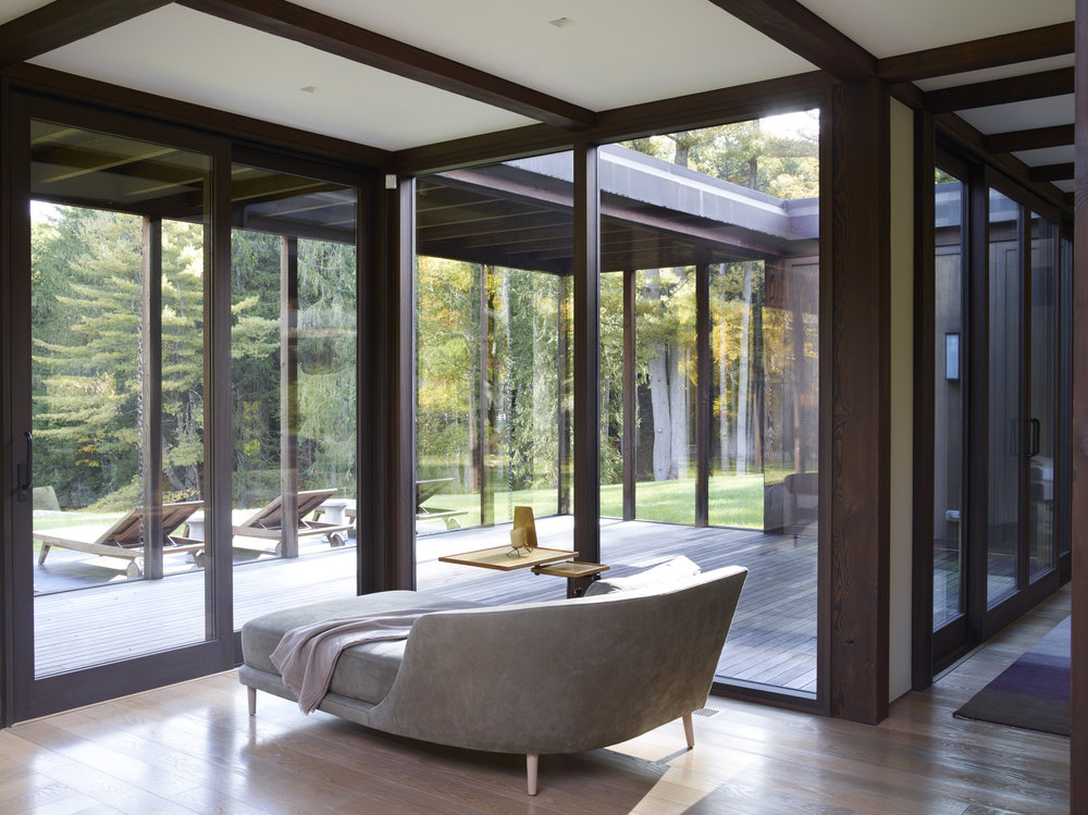 relaxing forest retreat healing escape in connecticut