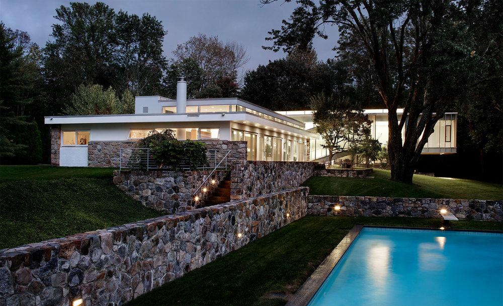 CT Modern residential Breuer house