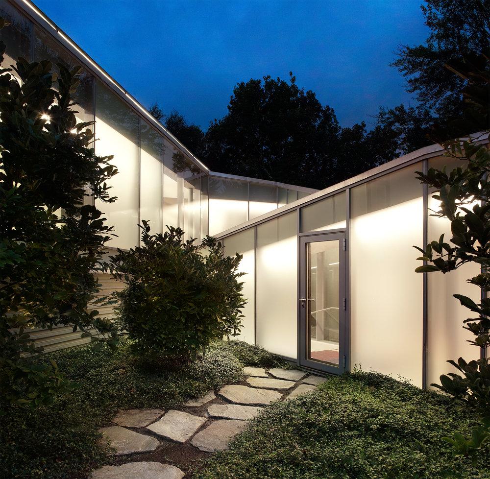 Glass Marcel Breuer House