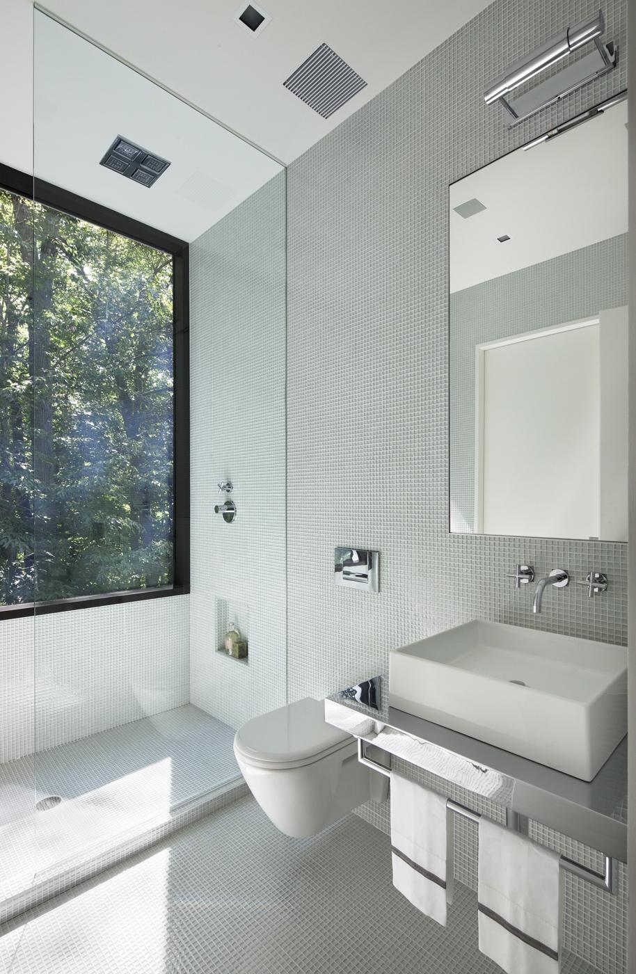 custom luxury white bathroom