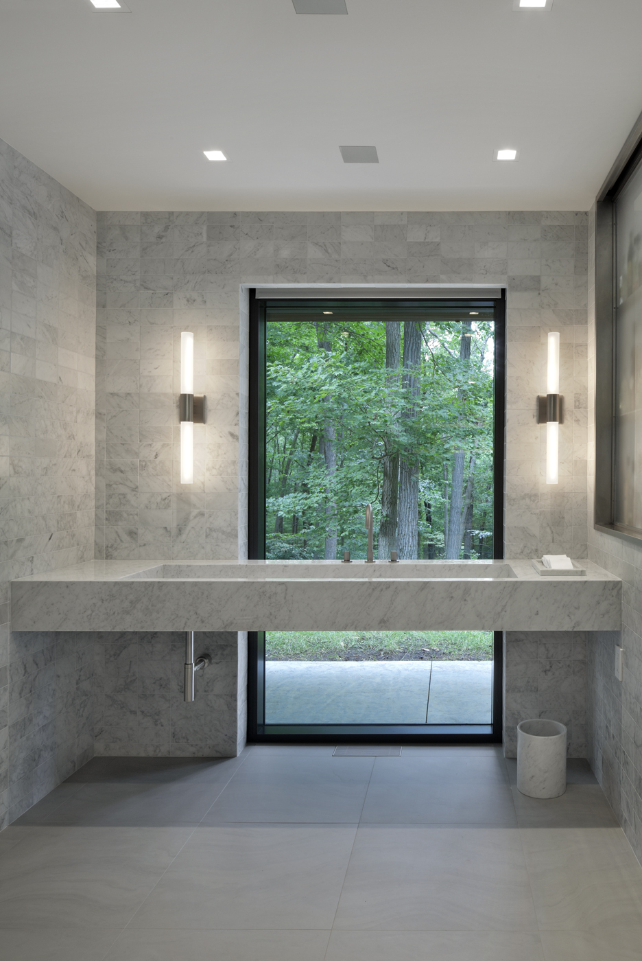 private bathroom views relaxing and calm white custom luxury