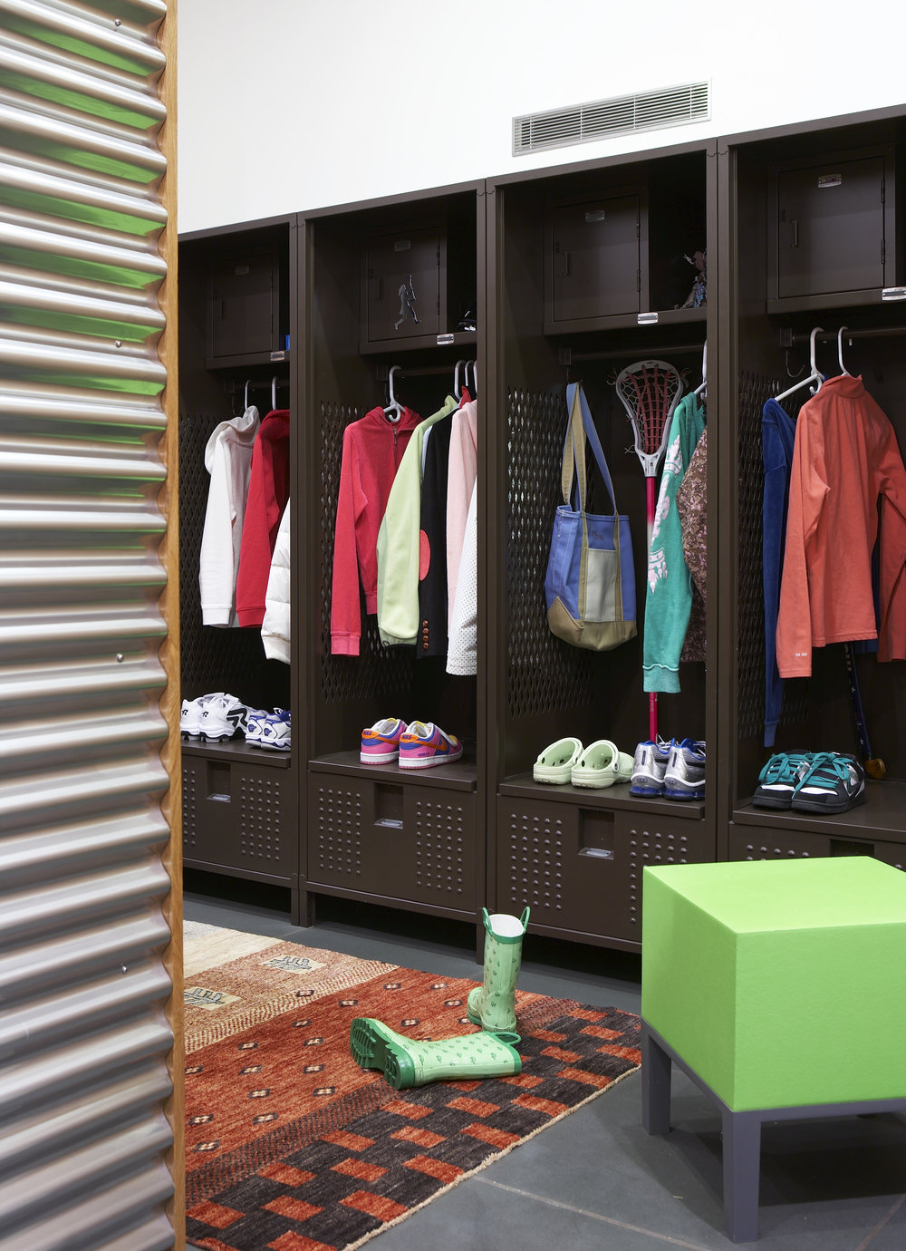 mudroom storage intelligent millwork