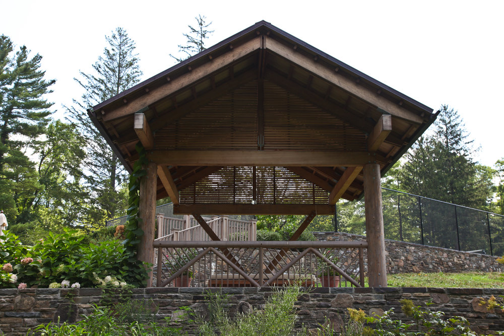 custom luxury wood gazebo