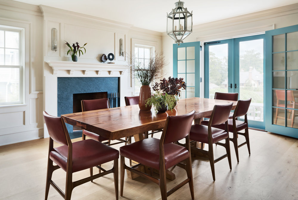 peaceful wooden dining room furniture