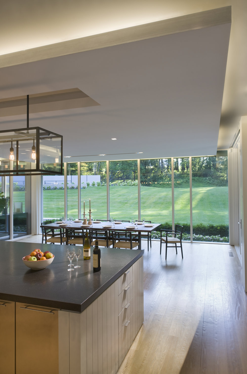 comfortable kitchen island breakfast dining room