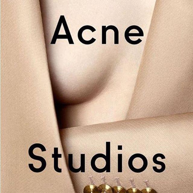 #acne #acnestudios #fashion #fashionblogger #branding #typography #style #artdirection #photoshoot #logo