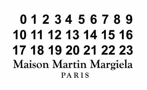 #maisonmartinmargiela #margiela #paris #typography #logo #fashion #fashionblogger #design #fashionista #brand