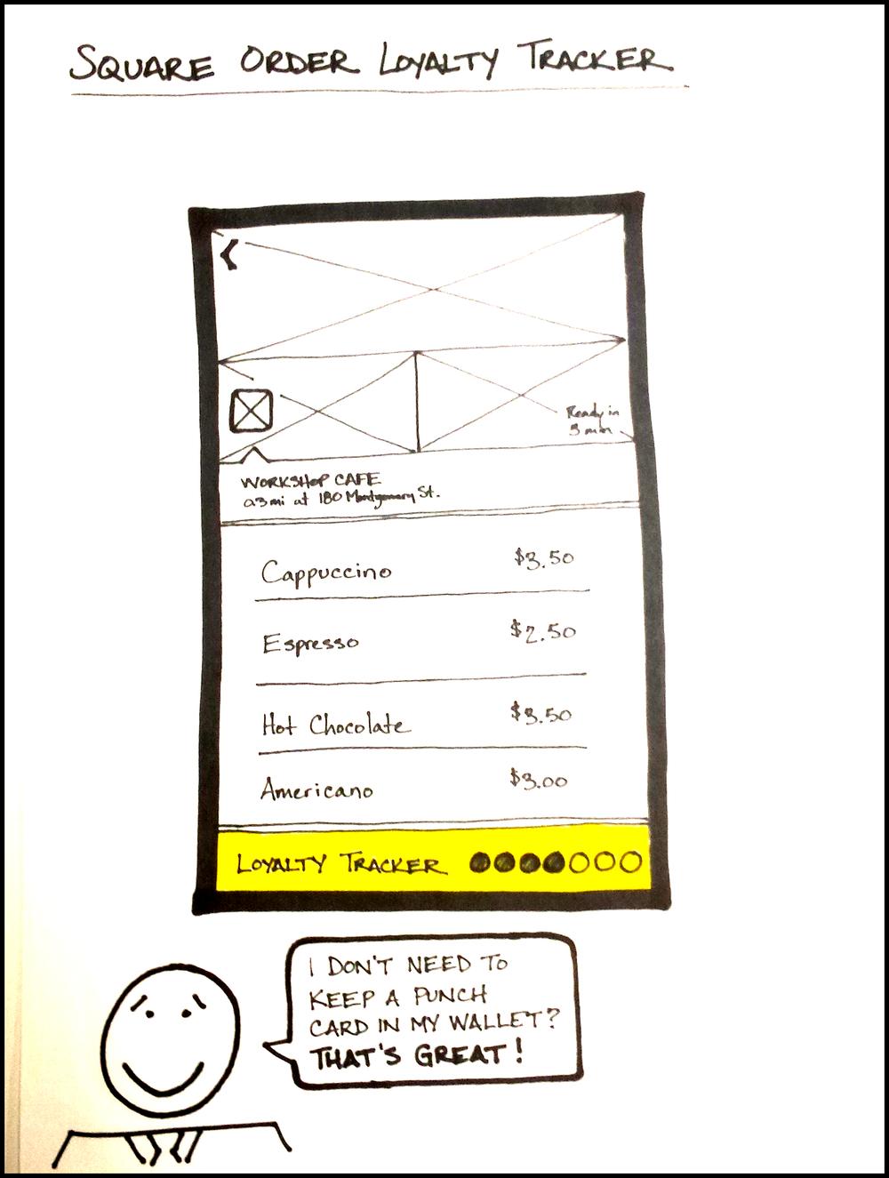 UI Feature Sketch