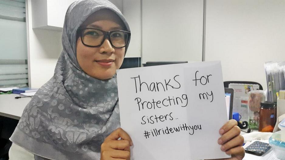 Angger Prawitasari  thanks all supporting #illridewithyou