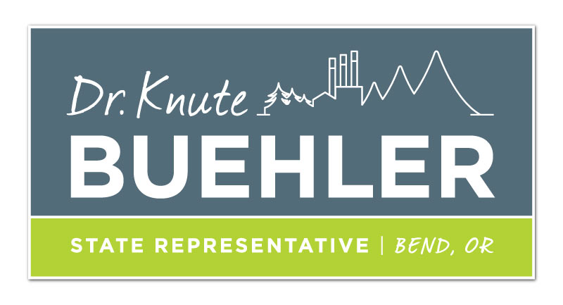 Buehler 2014 : candidate for Oregon State Representative. Identity + Collateral