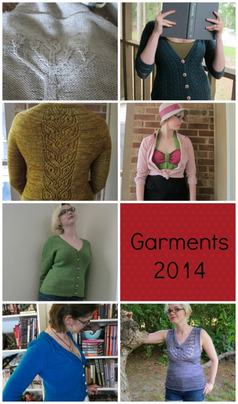 Top-Bottom, Left-Right: Bare Branches, Cafe Au Lait, Ginny's Cardigan, Fizz, Rosemary Cardigan, Marion, Bonny