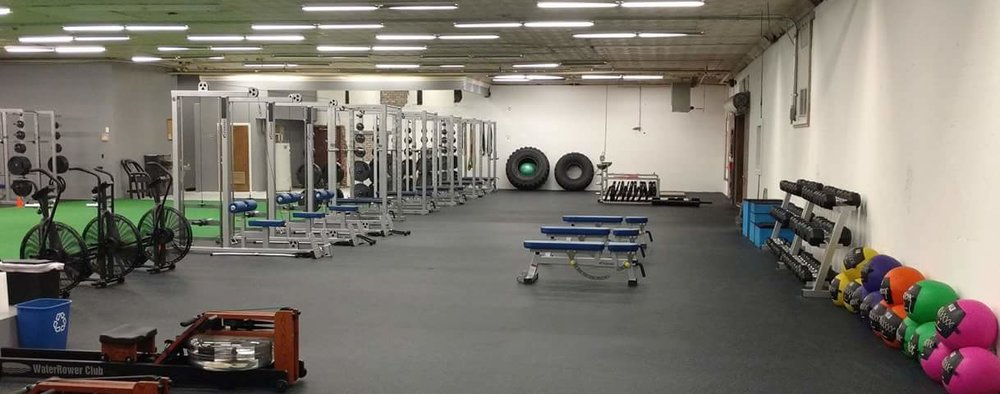 Performance Gym Layout - 5, 500 sq. ft. including training turf!