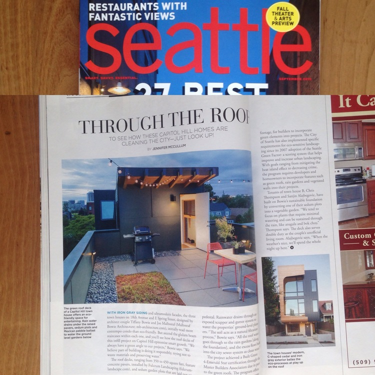 Through the Roof   Seattle Magazine  September 2015