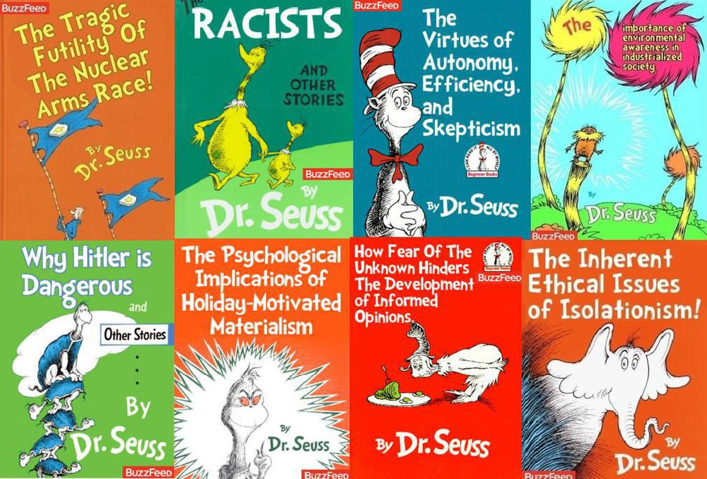 If Dr. Seuss was a little less subtle