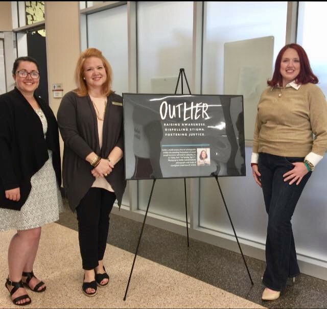 Outlier Exhibit night @ UL Lafayette