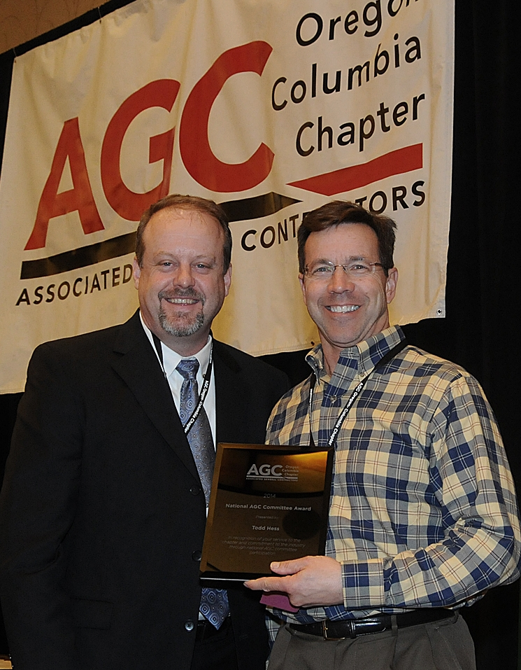 2014 AGC Chapter National Committee Award winner