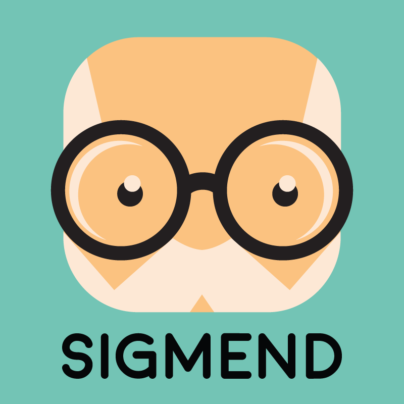 New logo for TechStars company Sigmend a new company reducing the human and economic costs of mental illness.