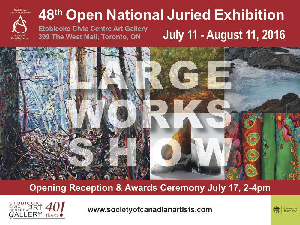 large works, major works, award winning art Canada, toronto art events July 17, Intimate Canopy, Gull River, Kathy Marlene Bailey, Glaze Oil, River painting, abstract water, Haliburton, Gull River