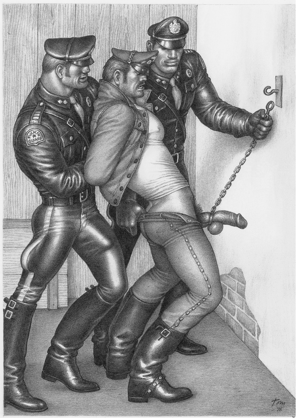 Tom of Finland - UNTITLED ARREST
