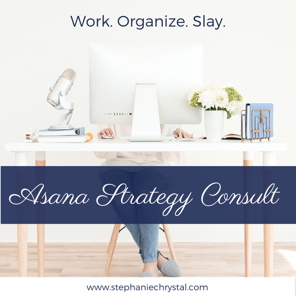 aSANA CONSULTS WITH STEPHANIE CHRYSTAL