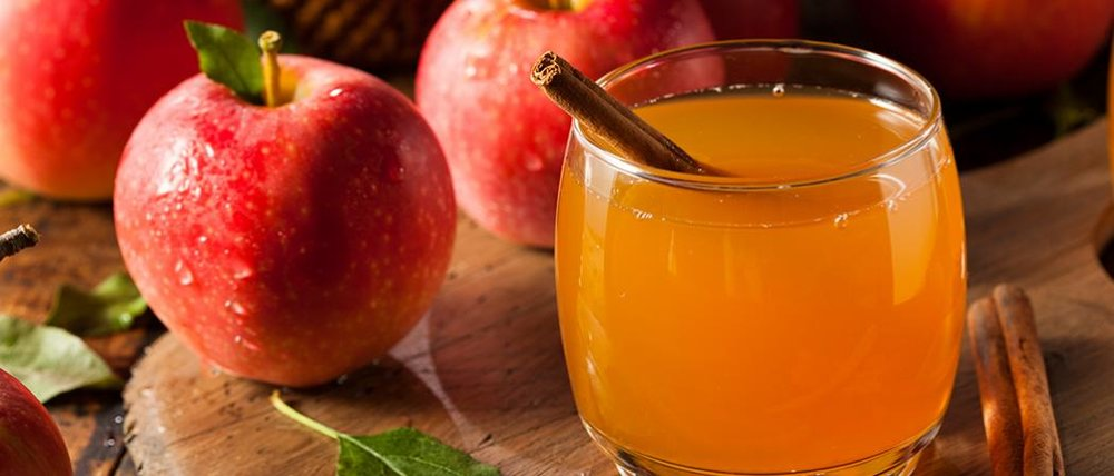 Warm Apple Cider -