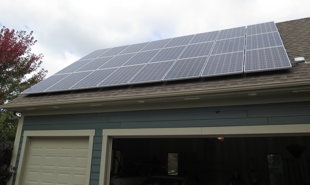 City council member Michael Wojcik was sued by his neighborhood association for installing a solar array above his garage. (Photo: The Med City Beat)