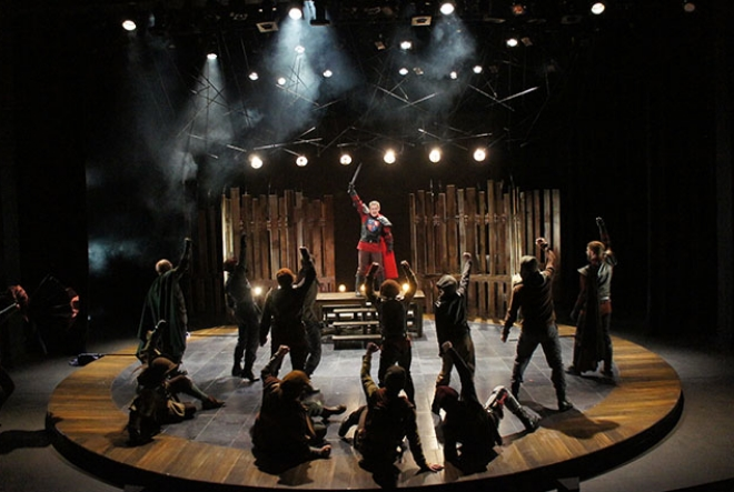 Photo: Production of  King Henry V  /  GRSF.org