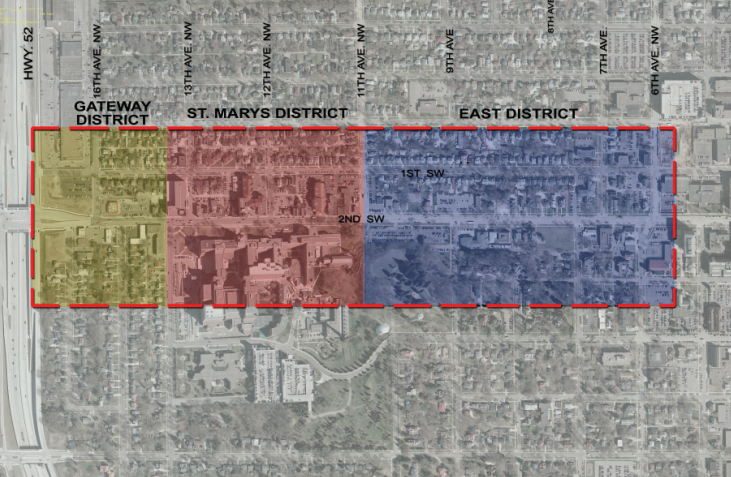 Graphic: 2009 / Second Street Corridor Plan