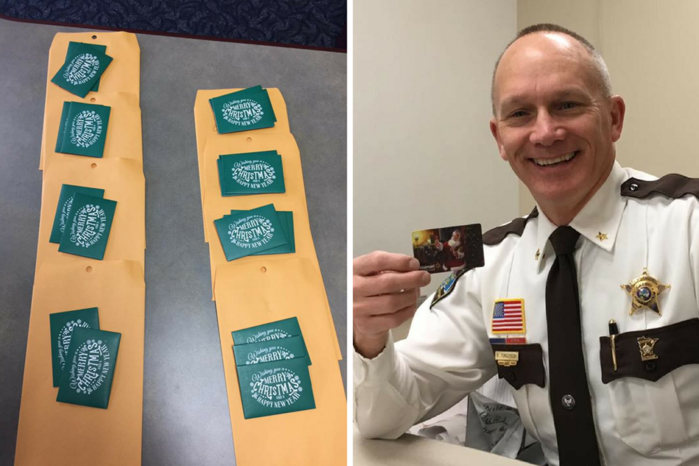 Anonymous donor drops off $1,000 in gift cards to Olmsted Co