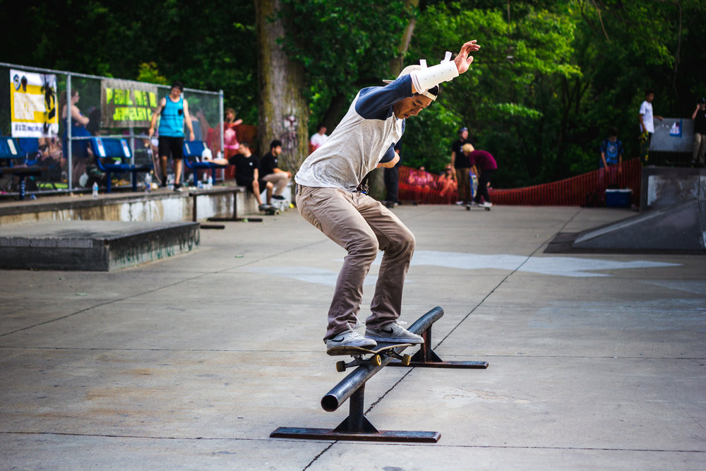 Salute to the 4th skate contest / Photo by Guifeng Huang