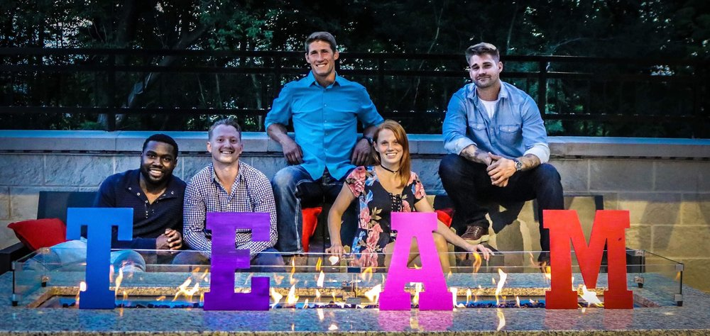 T.E.A.M. Events aims to bring fun and innovative events to Rochester. (Left to right: Tim Nela, Ethan Schultz, Chad Curry, Amanda Curry and Mike Vaniperen.)