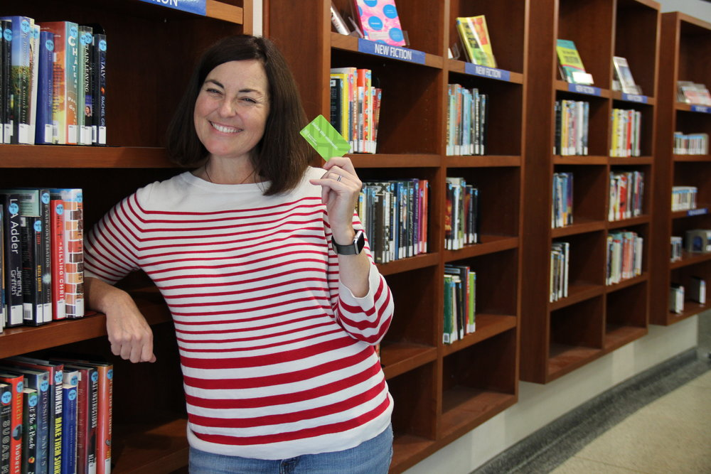 "Katie Hendrickson says, ""With so many services including community education, youth programming, and career services, the library provides something of value to everyone."""