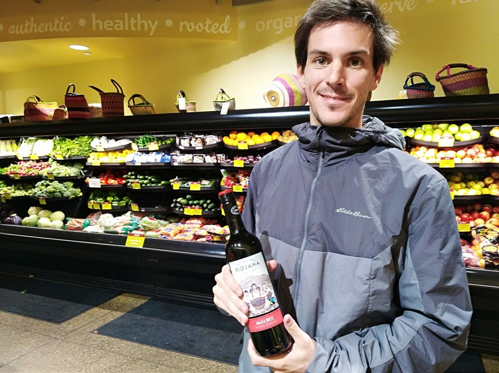 Gregorio Pezza at the People's Food Co-op in Rochester