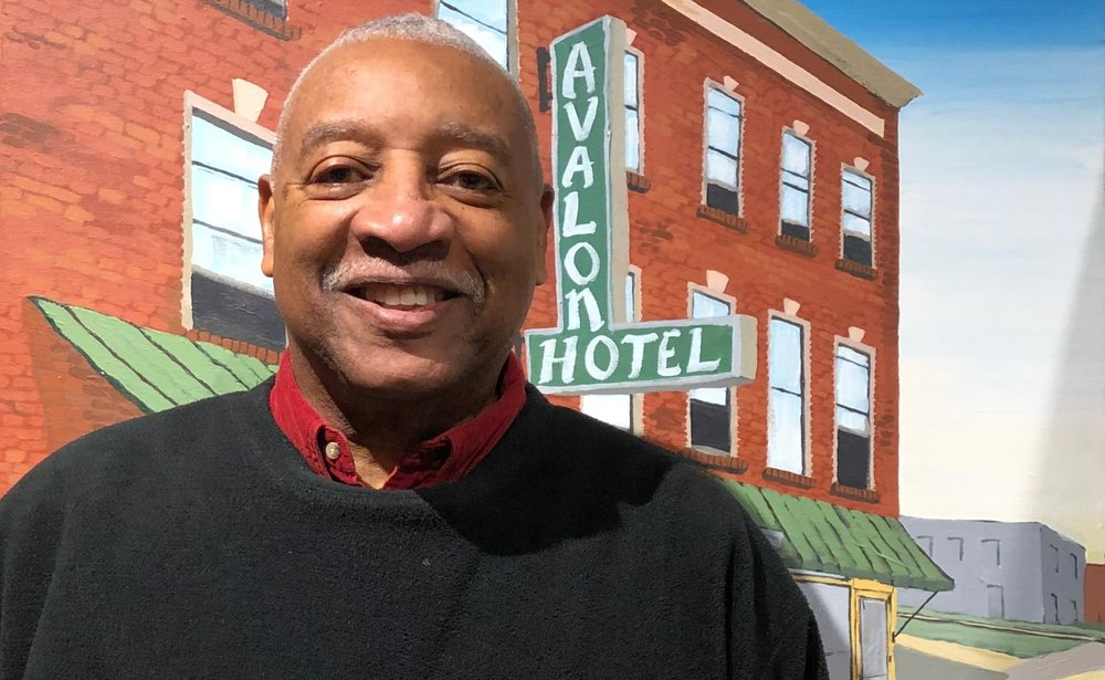"""George Thompson was among those interviewed for the """"Traveling While Black"""" exhibit."""