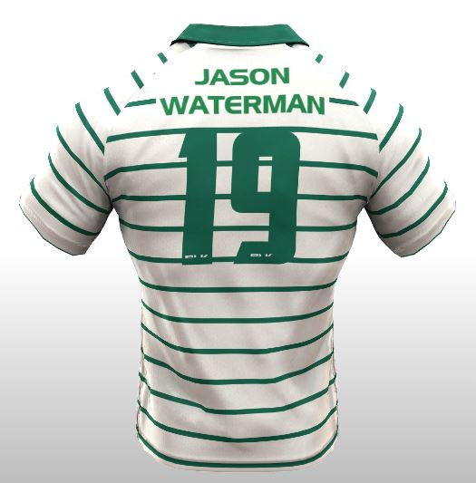 Back of Jason Waterman Kit